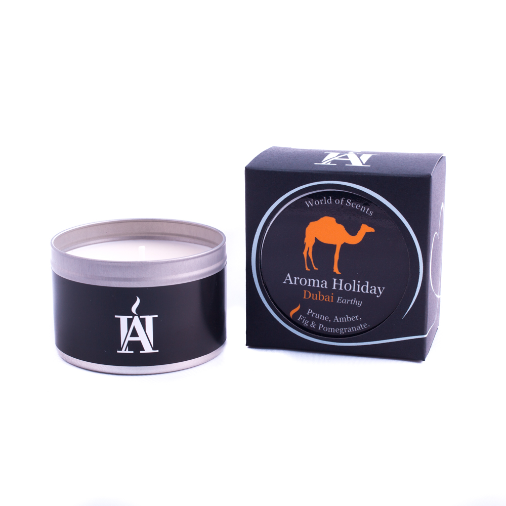 Dubai Travel Candle