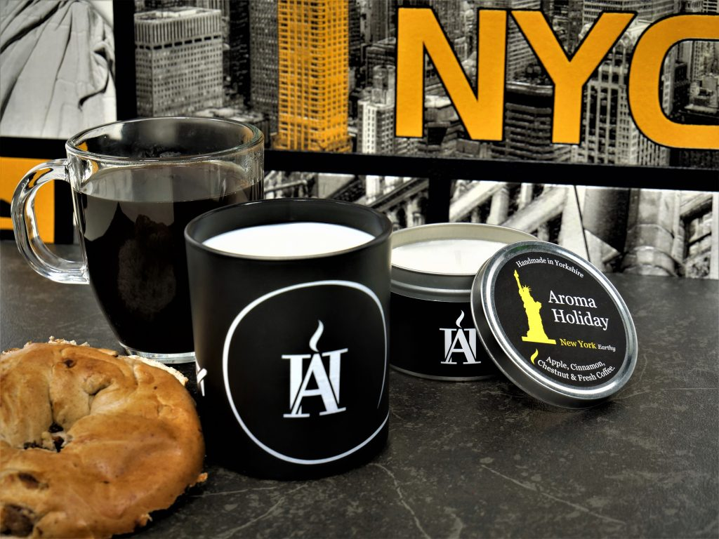 Luxury NYC Candle