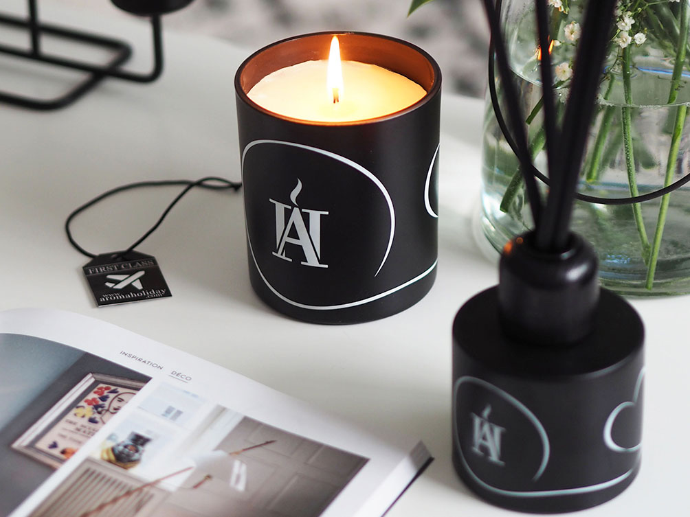 Matt Black Candle & Diffuser
